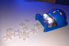 3D tištěné vločky pro robtoy?