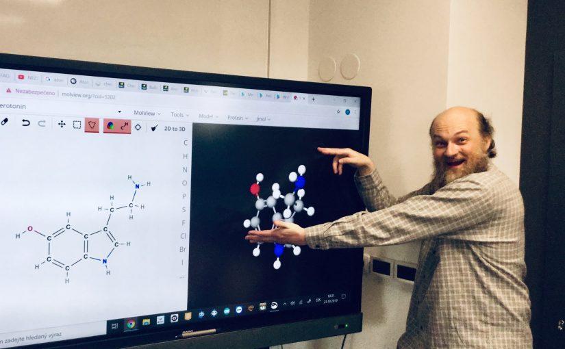 Atomy a molekuly – prosinec 2019