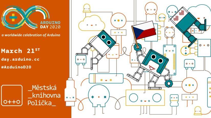 ZRUŠENO! Arduino day s Ottíky – 21.3.2020
